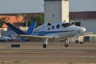 N218HP @ KCRQ - Cirrus SF-50 taking-off after a quick turn-around - by FerryPNL