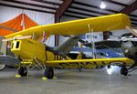 N16EG - Fisher (Griffith E M) R-80 Tiger Moth 8/10-scale replica at the Arkansas Air & Military Museum, Fayetteville AR