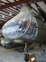 53-4354 - Piasecki CH-21C Workhorse/Shawnee, displayed as 55-4154 at the Arkansas Air & Military Museum, Fayetteville AR