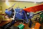 N869 - Travel Air 5000 'Woolaroc', winner of the 1927 Dole-Race from Oakland to Hawaii, at the Woolaroc Museum, Bartlesville OK