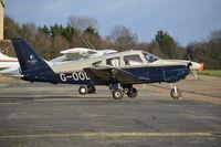 G-OODW @ EGTF - Piper PA-28-181 Cherokee Archer II at Fairoaks.