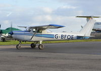 G-BFOE @ EGTF - Reims Cessna F152 at Fairoaks.