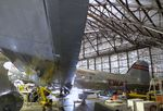N1945 @ KMKC - Douglas DC-3 minus engines, undergoing maintenance at the Airline History Museum, Kansas City MO