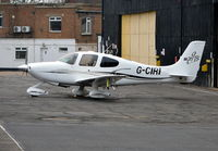G-CIRI @ EGTF - Cirrus SR20 at Fairoaks. Ex N473SR