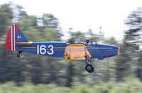 LN-BIF @ ENKJ - landing at Kjeller airfield - by olivier Cortot