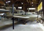 N4835Z @ KFOE - Beechcraft E50 / RU-8D Seminole at the Combat Air Museum, Topeka KS