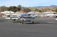 N121JR @ SZP - 1977 Cessna T210M TURBO CENTURION, Continental TSIO-520-NB 310 Hp - by Doug Robertson