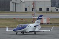 N1100H @ KTRI - Taxi in to park after landing at Tri-Cities Airport (KTRI) in East Tennessee. - by Davo87