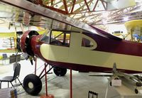 N10721 @ KGFZ - Sioux Kari-Keen Coupe 90-B at the Iowa Aviation Museum, Greenfield IA
