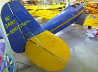 N34912 @ KGFZ - Timm (Aetna) Aerocraft 2SA at the Iowa Aviation Museum, Greenfield IA