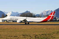 OY-GDA @ LOWS - Great Dane Airlines Embraer 195 - by Thomas Ramgraber
