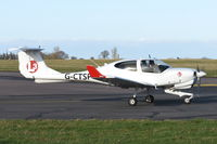G-CTSP @ EGSH - Departing from Norwich. - by Graham Reeve