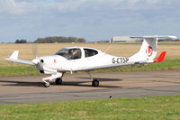 G-CTSP @ EGSH - Arriving at Norwich. - by keithnewsome