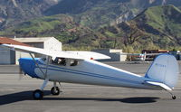 N1704V @ SZP - 1948 Cessna 140, Continental C-85-12 85 Hp, taxi to Rwy 22 - by Doug Robertson