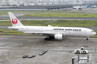 JA007D @ RJTT - Ready for departure from Haneda to Naha after Typhoon Hagibis as JL919. - by Arjun Sarup