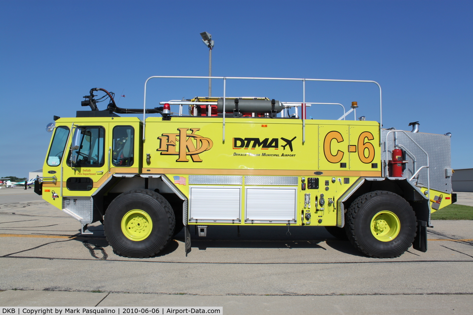 De Kalb Taylor Municipal Airport (DKB) - Fire/crash Truck
