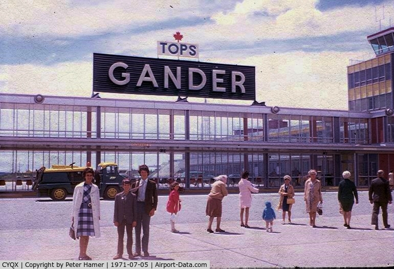 Gander International Airport, Gander, Newfoundland and Labrador Canada (CYQX) - Tops