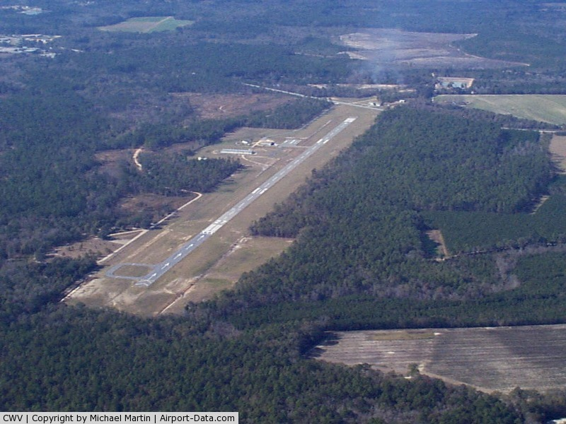 Claxton-evans County Airport (CWV) - Claxton Evans Airport