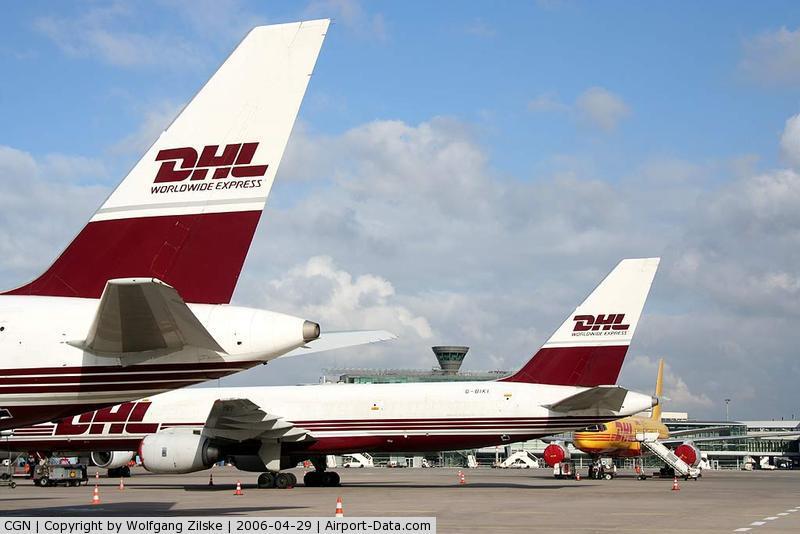 Cologne Bonn Airport, Cologne/Bonn Germany (CGN) - Tails