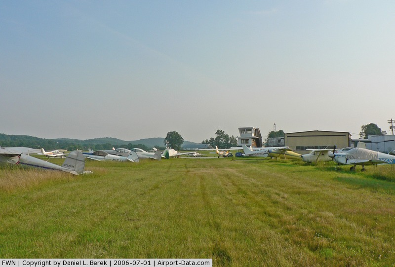 Sussex Airport (FWN) - Sussex is a small, friendly airport with many interesting and old planes.