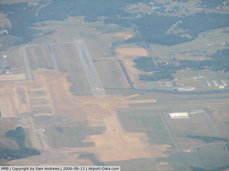 Eastern Wv Rgnl/shepherd Fld Airport (MRB) - They are making some serious improvements here.  I hope they are improvements.