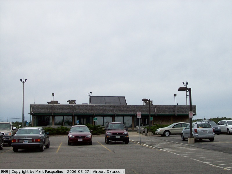 Hancock County-bar Harbor Airport (BHB) - Airline Terminal