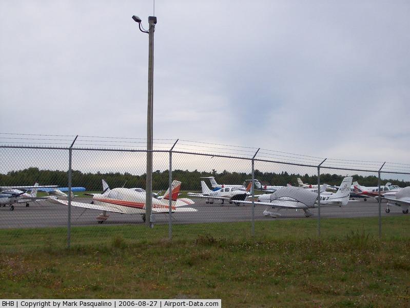 Hancock County-bar Harbor Airport (BHB) - General Aviation Ramp