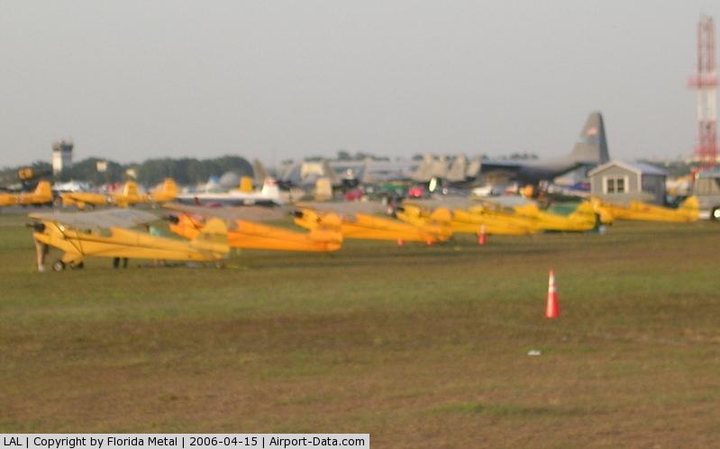 Lakeland Linder Regional Airport (LAL) - J3 Cubs lined up
