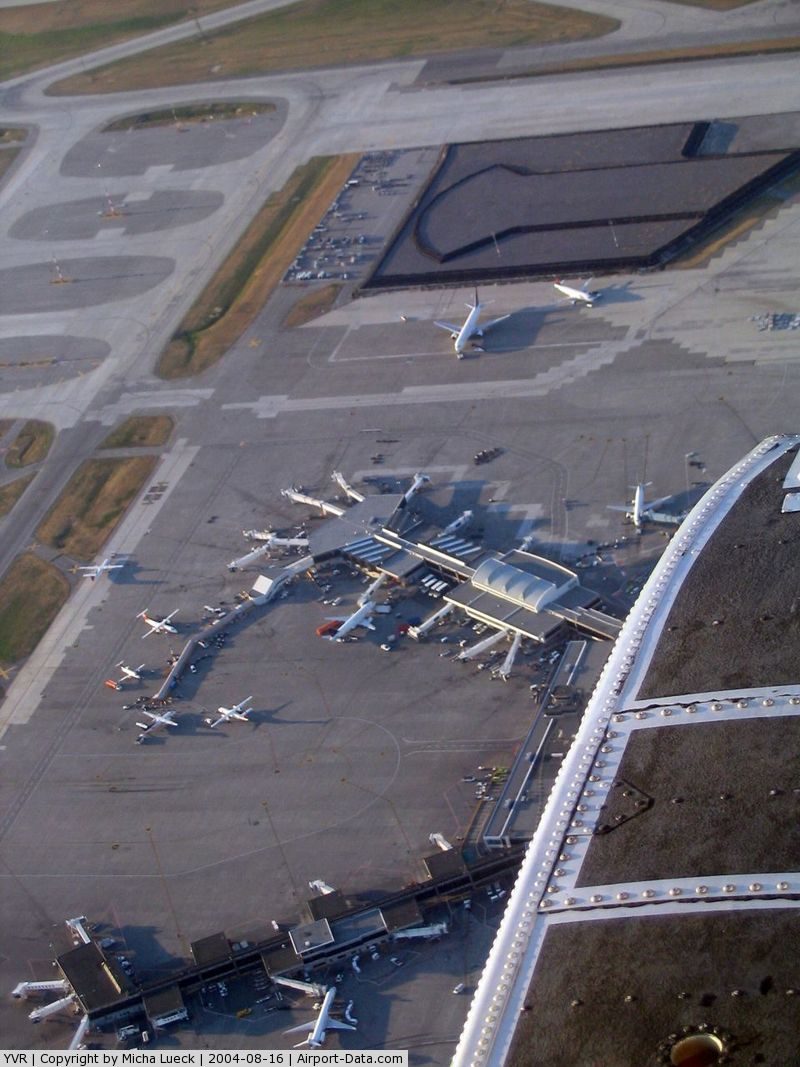 Vancouver International Airport, Vancouver, British Columbia Canada (YVR) - Seen from Harbour Air Single Otter C-GUTW
