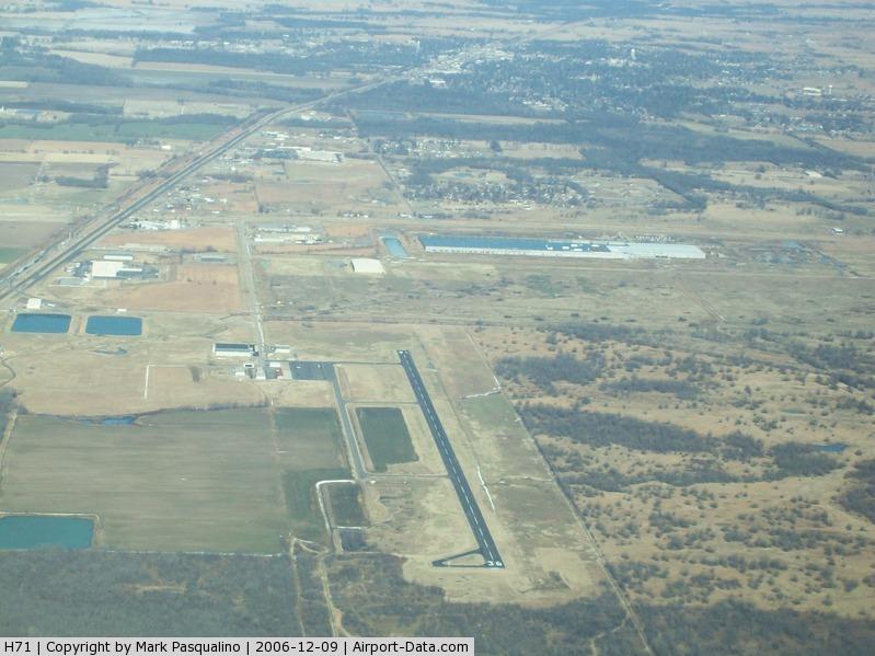Mid-america Industrial Airport (H71) - Pryor, OK