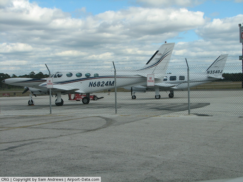 Jacksonville Executive At Craig Airport (CRG) - Two to charter at Craig Air Center