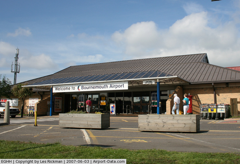 Bournemouth Airport, Bournemouth, England United Kingdom (EGHH) - The Terminal at Bournemouth