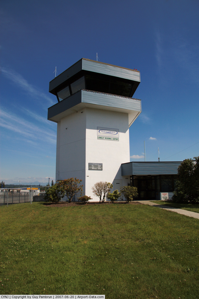 Langley Regional Airport, Langley, BC Canada (CYNJ) - Tower