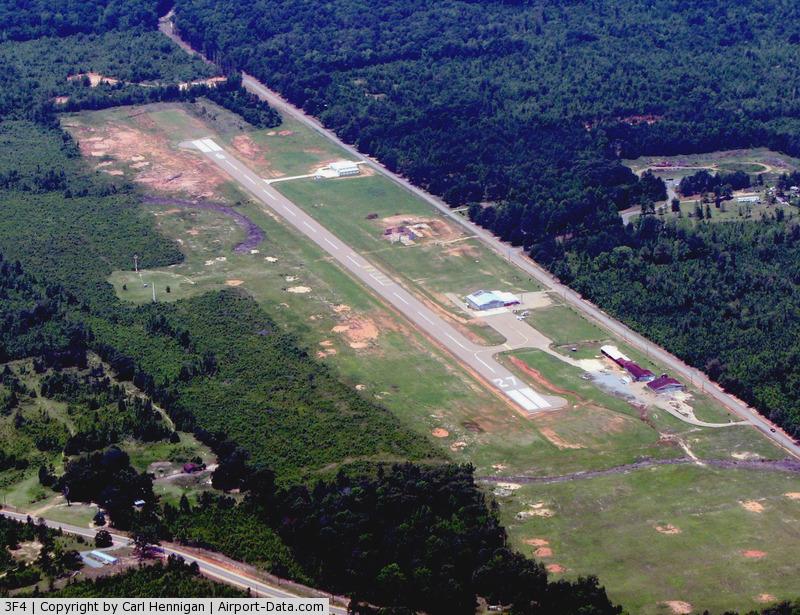 Vivian Airport (3F4) - Vivian airport looking west