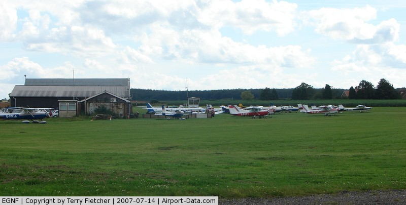 Netherthorpe Airfield Airport, Worksop, England United Kingdom (EGNF) - Netherthorpe Nottinghamshire UK