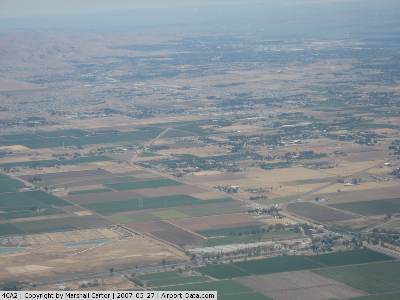 Funny Farm Airport (4CA2) - Taken over Stockton from N2017T