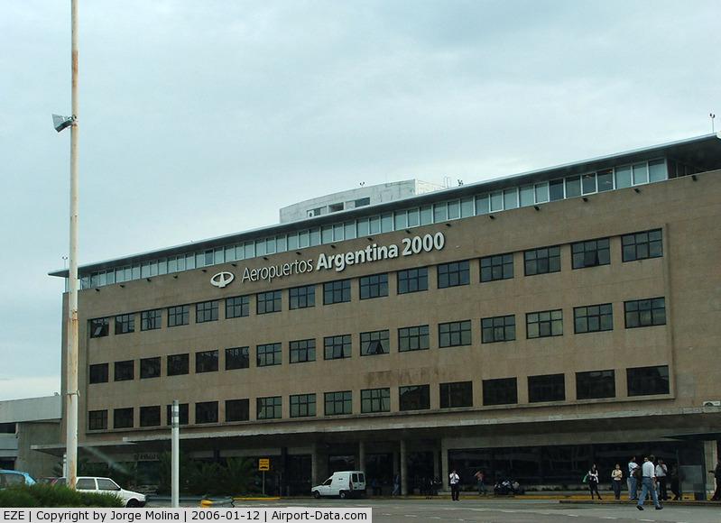 Ministro Pistarini International Airport (Ezeiza International Airport), Ezeiza, Buenos Aires Province Argentina (EZE) - Argentine Airport´s 2000 building.