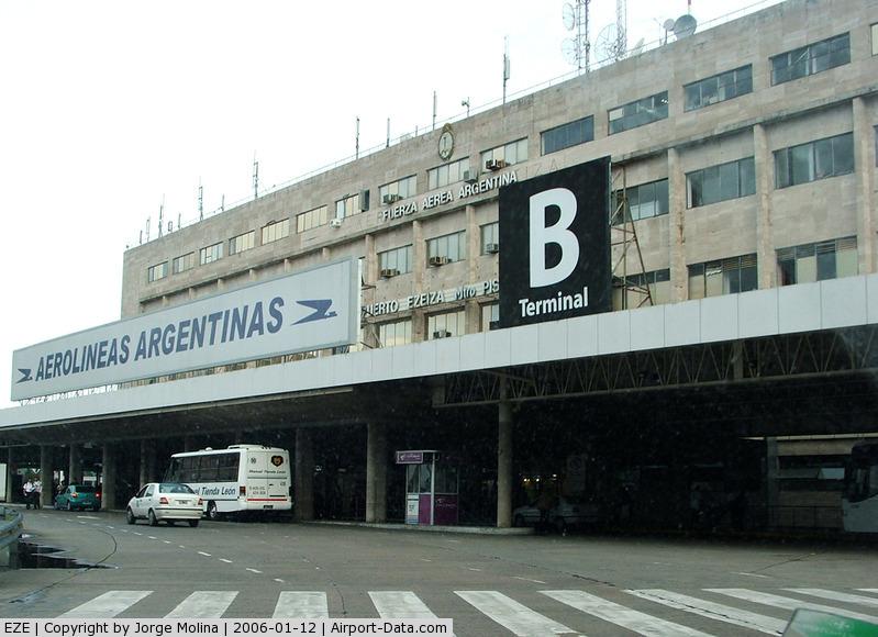Ministro Pistarini International Airport (Ezeiza International Airport), Ezeiza, Buenos Aires Province Argentina (EZE) - Aerolineas Argentinas, Terminal B.