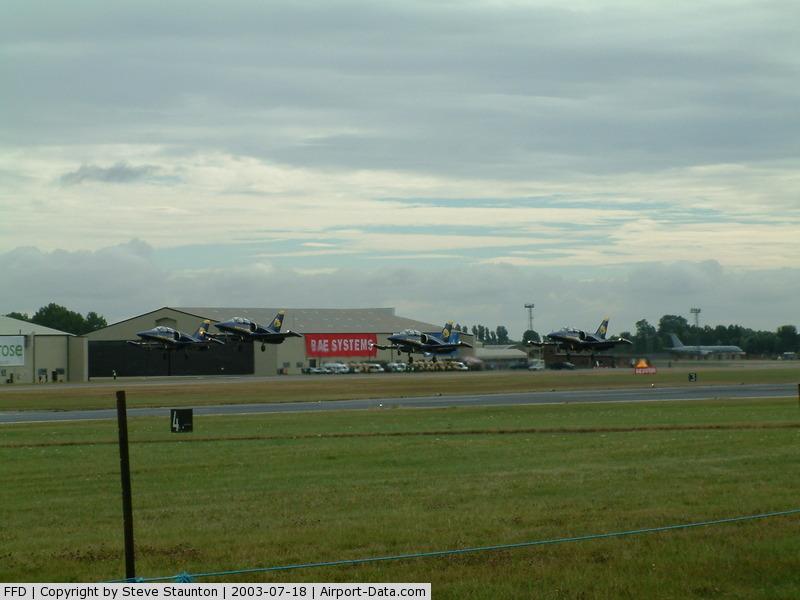 RAF Fairford Airport, Fairford, England United Kingdom (FFD) - Apache Jet Team @ Royal International Air Tattoo 2003