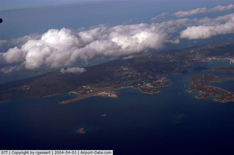 Cyril E King Airport (STT) - ST. Thomas - stt - from air