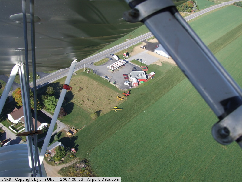Treichler Farm Airport (5NK9) - Dan's Kwik_Fill, In Strykersville,NY. Dan likes planes, so there's a N/S grass strip behind his gas station (near 5NK9)