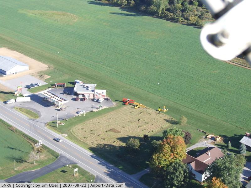 Treichler Farm Airport (5NK9) - Sunday Morning at Dan's Kwik-Fill (Strykersville, NY) (near 5NK9) N42.71050/W078.45309