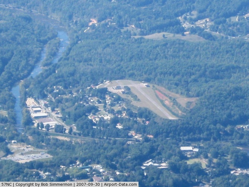 Sossamon Field Airport (57NC) - From 8000'