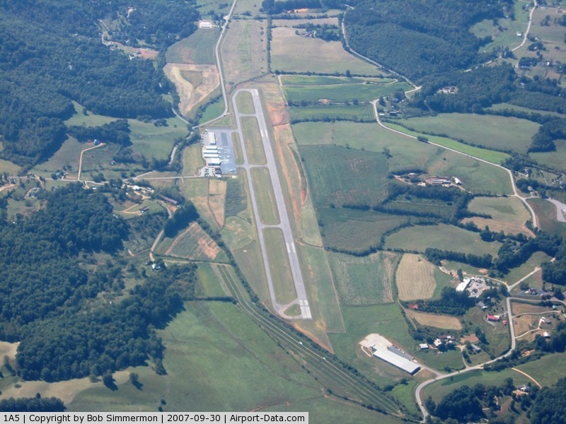 Macon County Airport (1A5) - From 8000'