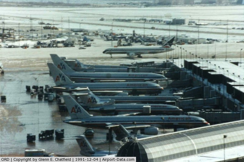 Chicago o hare international airport ord american airlines