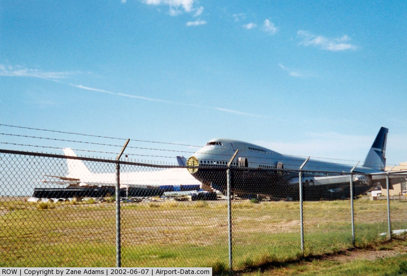 Roswell International Air Center Airport (ROW) - 747's meeting their end at Roswell - Former Walker Air Force Base
