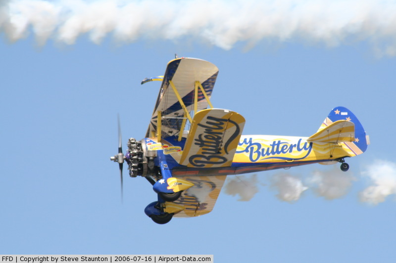 RAF Fairford Airport, Fairford, England United Kingdom (FFD) - Utterly Butterly team at Royal International Air Tattoo 2006