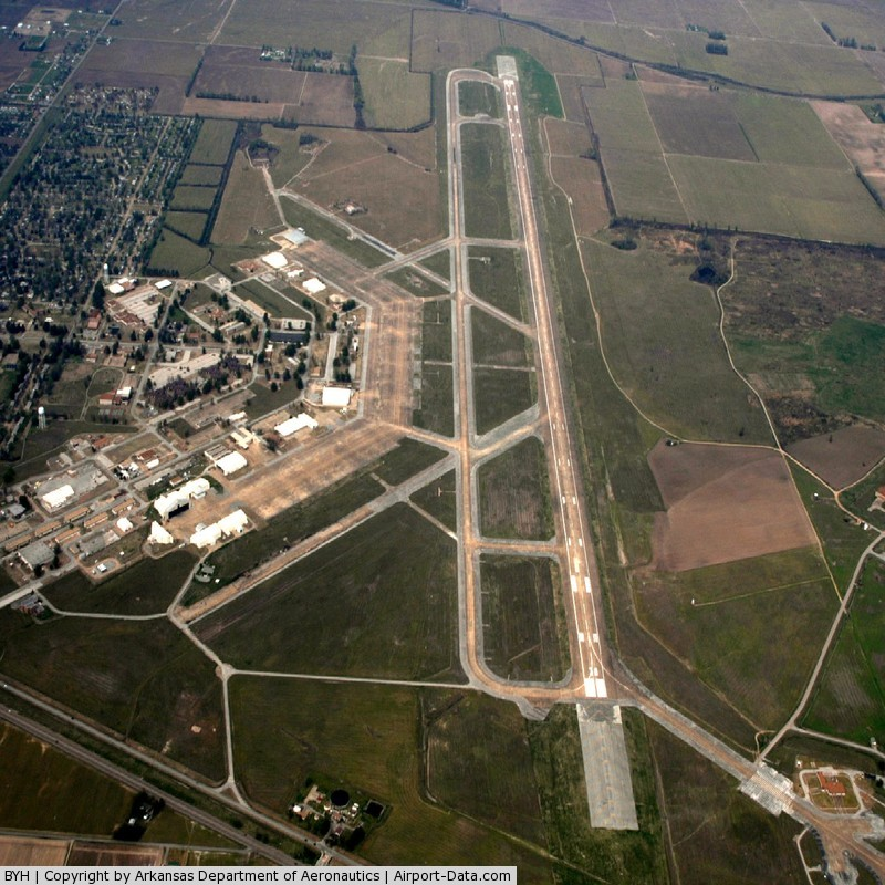 Arkansas International Airport (BYH) - Aerial Photo
