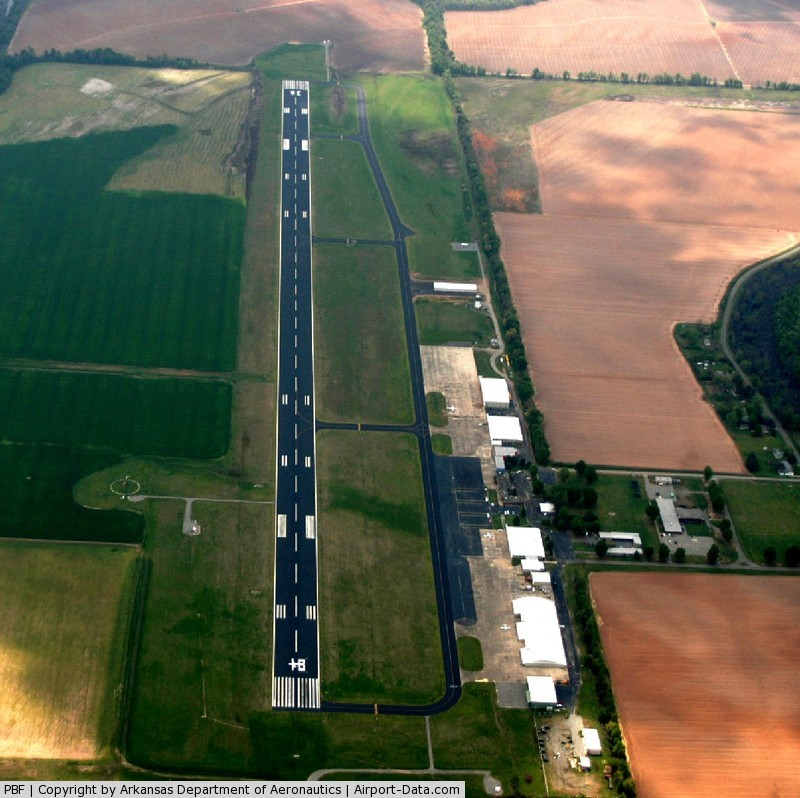 Grider Field Airport (PBF) - Aerial Photo