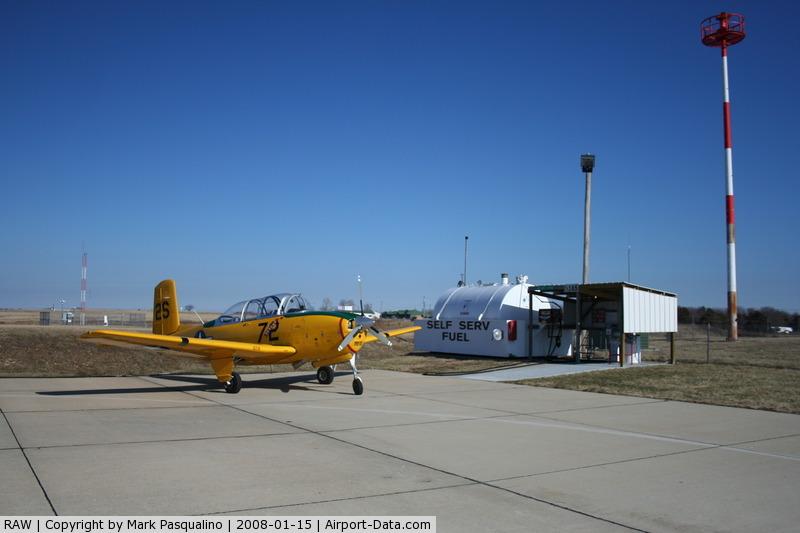 Warsaw Municipal Airport (RAW) - Warsaw, MO  Self service fuel pumps